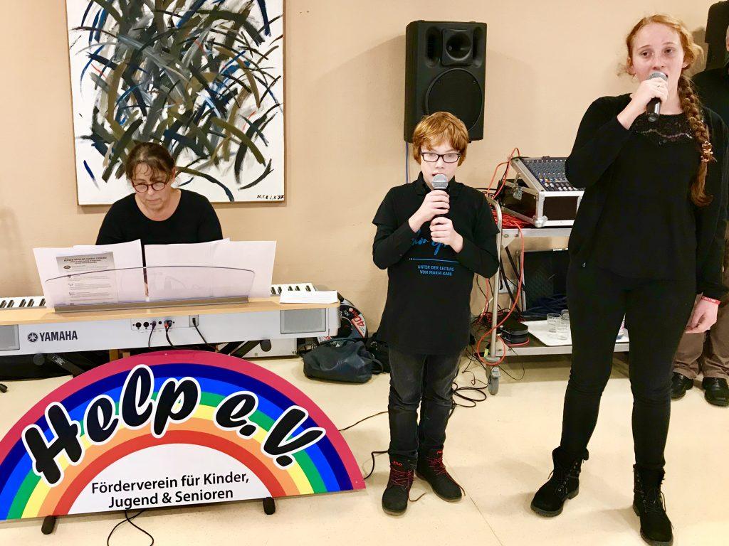 Liedvortrag des Kinder- und Jugendprojekts von Ephata.